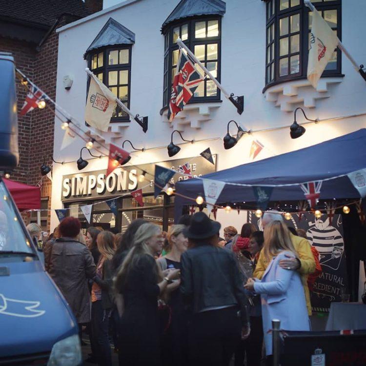 simpsons stroud shop